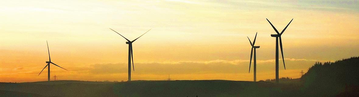 Neilston Windfarm Turbines
